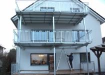 Balkone aus Edelstahl