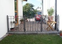 Geländer feuerverzinkt und pulverbeschichtet
