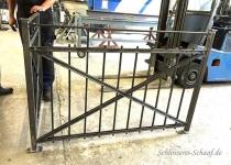 Geländer Sonderanfertigung Stahl, feuerverzinkt und pulverbeschichtet - Schlosserei Schaaf