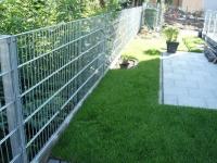 Gartenzaun aus Edelstahl