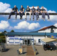 Team und Firmengelände Schlosserei Schaaf