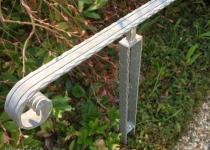 Gelaender aus Stahl