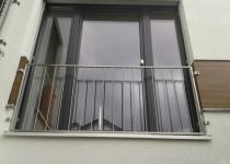 Französiches Fenstergitter aus Edelstahl