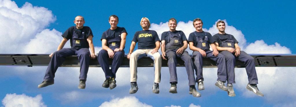 Team/Mitarbeiter der Schlosserei Schaaf