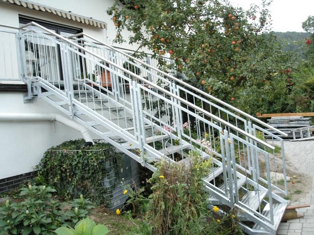 Treppenaufgang - Schlosserei Schaaf